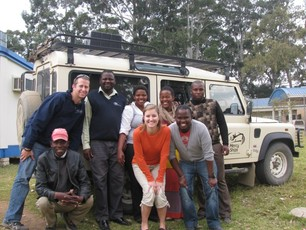 Murray and Candace with the Mercy Vision Team at Zithulele